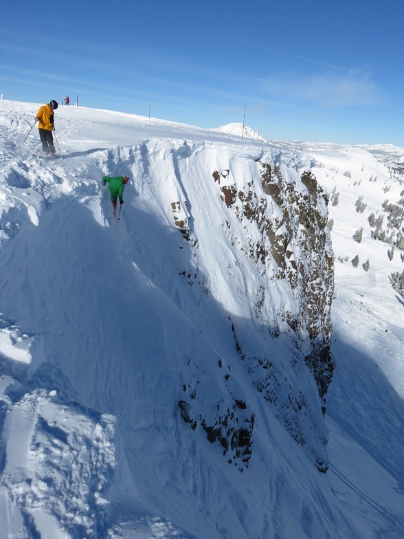 The Palissades, Squaw Valley
