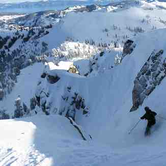 Summit Chute, Squaw Valley
