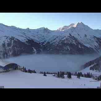 Valley fog, St. Anton