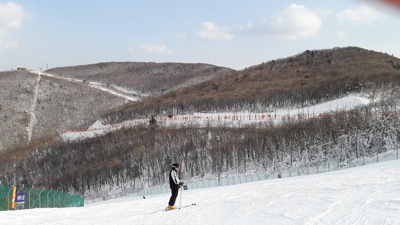 High1 Ski Resort snow