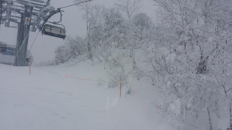 Sapporo Teine snow