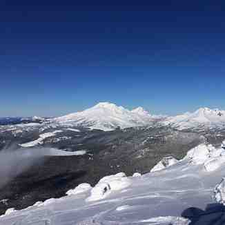amazing mt bachelor views