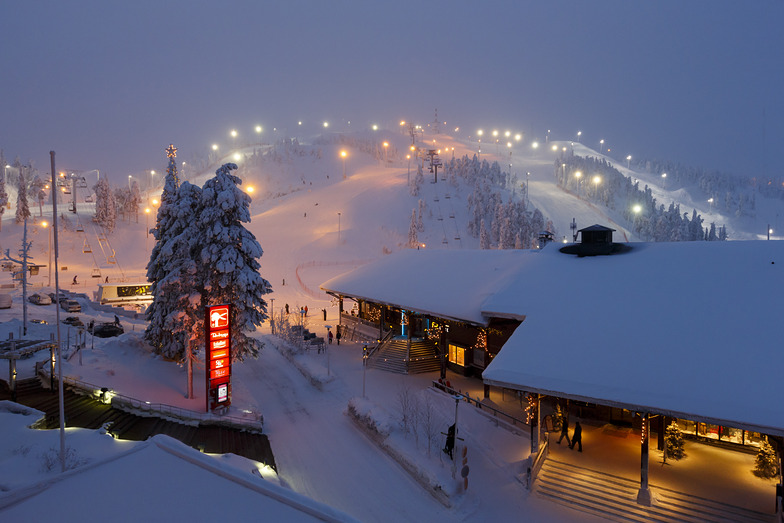 Ruka Front Slopes