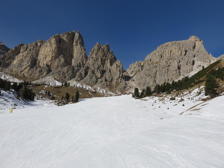 Jimmy's Hut red piste., Corvara (Alta Badia)
