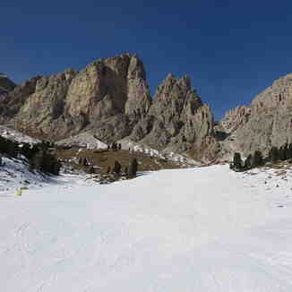 Jimmy's Hut red piste., Corvara (Alta Badia)