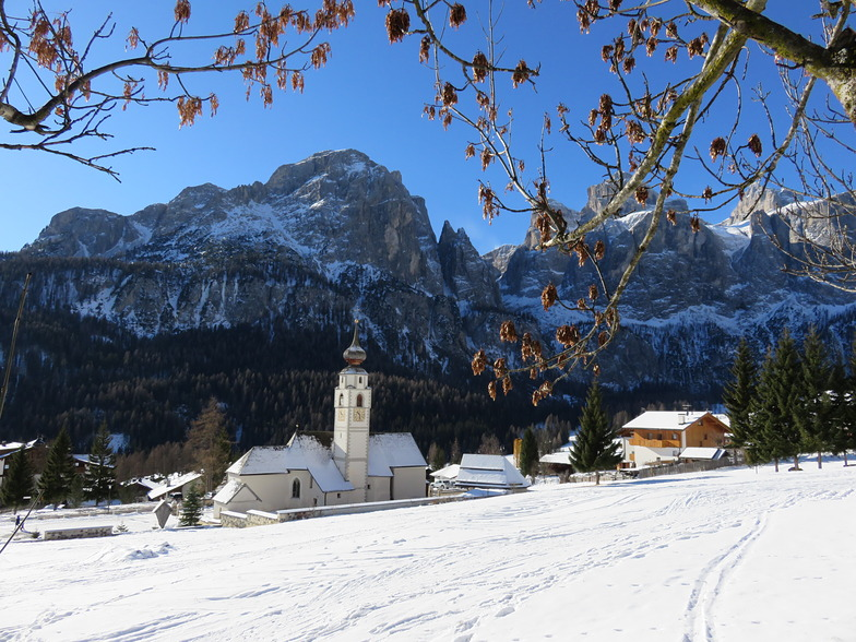 Colfosco church., Corvara (Alta Badia)