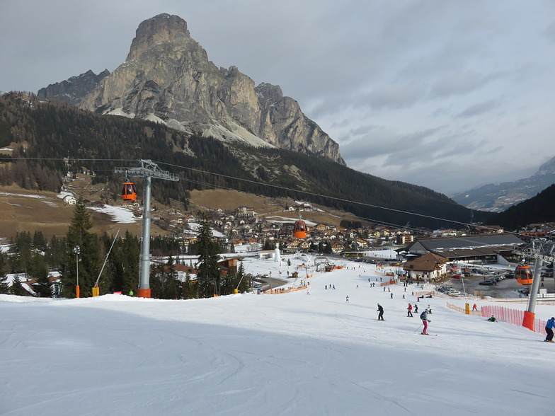 Nursery slope., Corvara (Alta Badia)