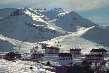 Panoramic view of valgrande-Pajares