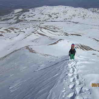 Backcountry Erciyes mountain, Erciyes Ski Resort