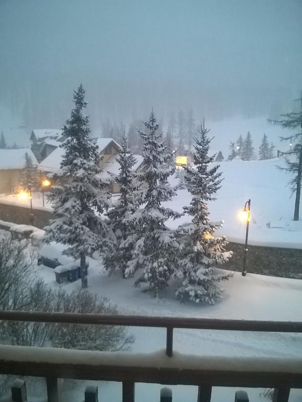 It's snowing, Claviere (Via Lattea)