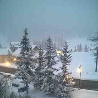 It's snowing, Claviere (Via Lattea)
