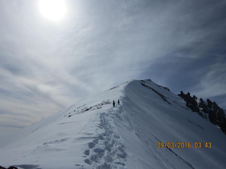 Backcountry Erciyes mountain, Erciyes Ski Resort