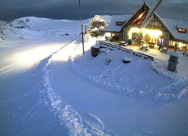 Ziria of Corinth Ski Center snow