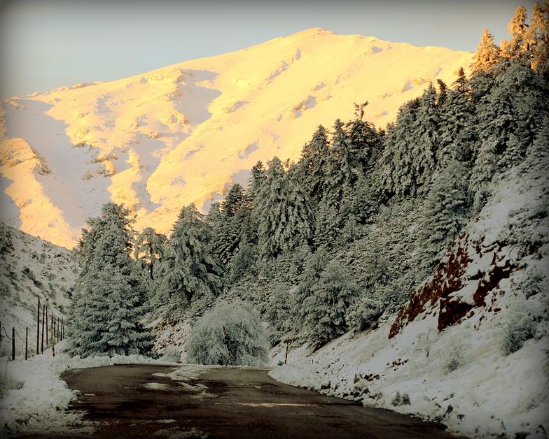 Ziria, Ziria of Corinth Ski Center