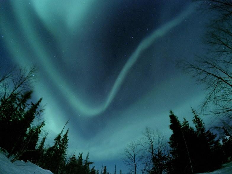 Aurora over Yllas, Finland