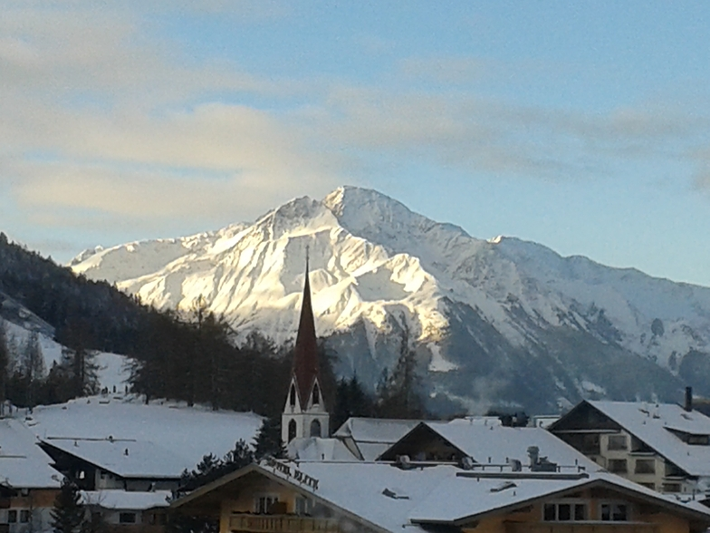 Seefeld town view