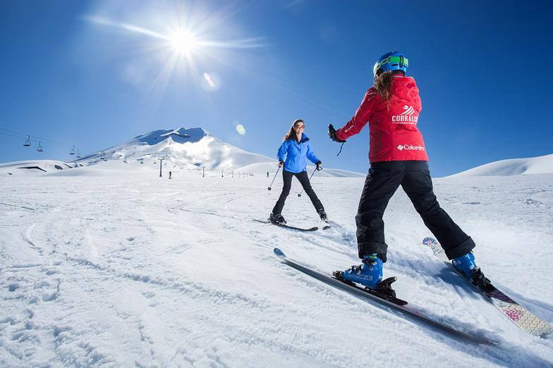 Learning to Ski in Corralco!, Corralco (Lonquimay)