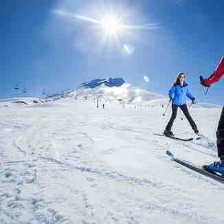 Learning to Ski in Corralco!, Corralco (Lonquimay)