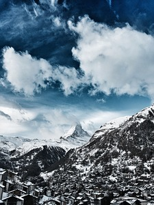 Zermatt and Matterhorn photo