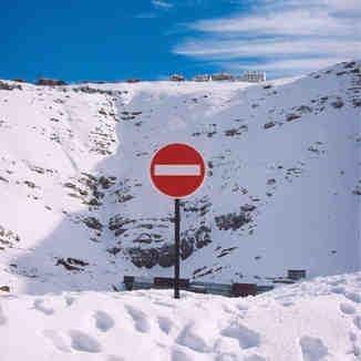 No trespassing!!! Faraya, Lebanon, Mzaar Ski Resort