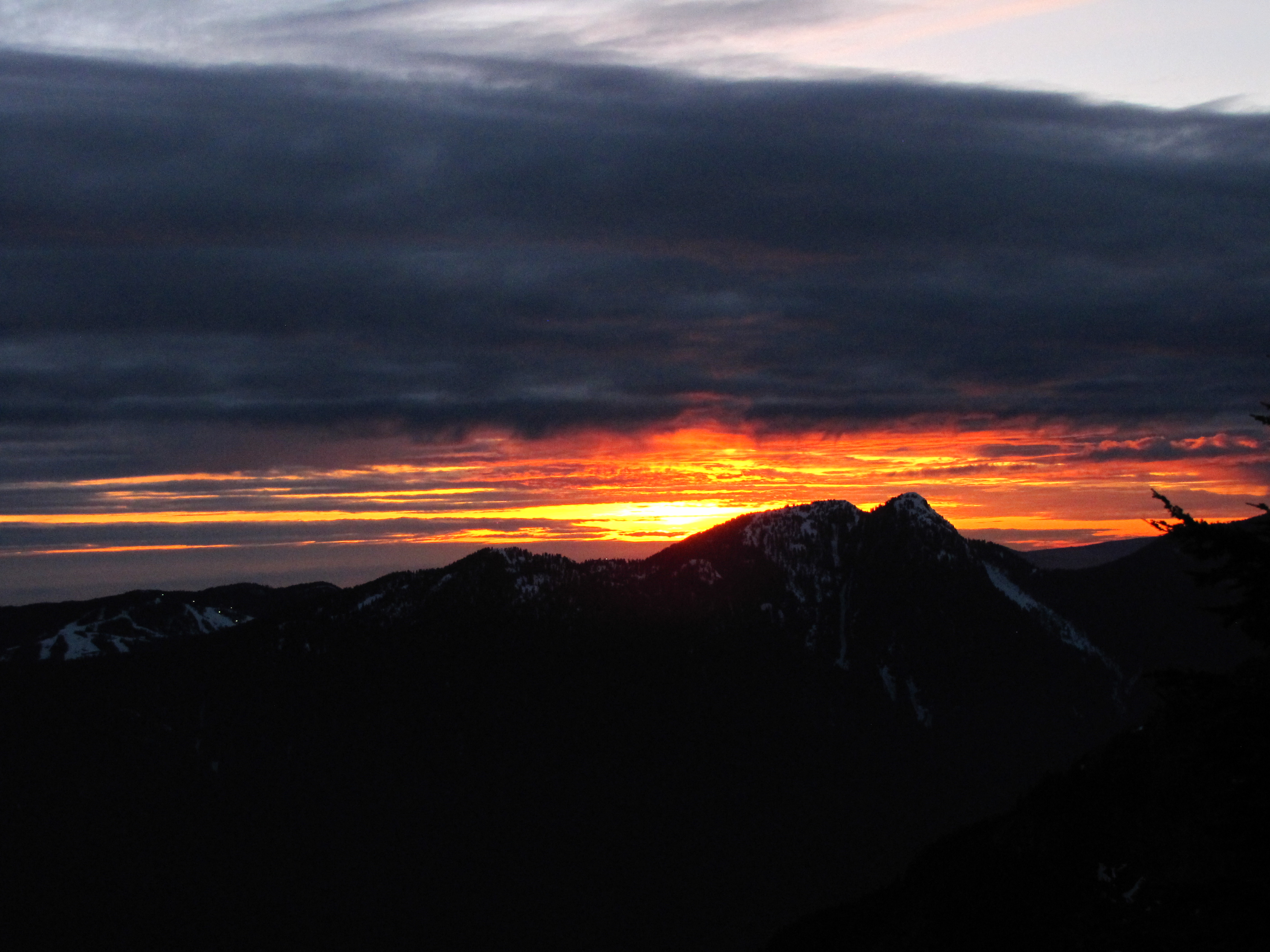 Fire In The Sky!, Grouse Mountain