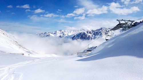 Shymbulak Ski Resort by: Vladimir Semiletov
