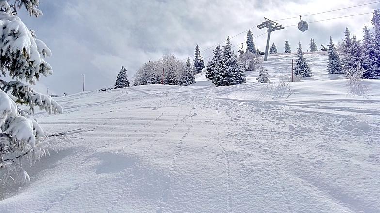 Shymbulak, fresh snow)