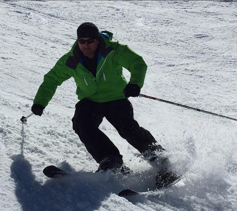 Carving mode!, Mzaar Ski Resort