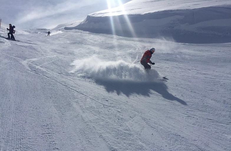 Pure powder!!!, Mzaar Ski Resort