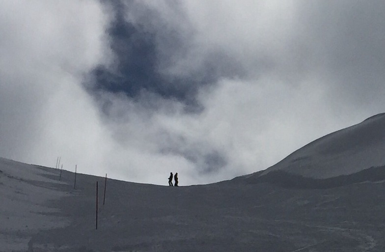 Top of Cuve slope, Mzaar Ski Resort