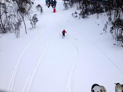 Thredbo Ski Resort by: Steve Bracken