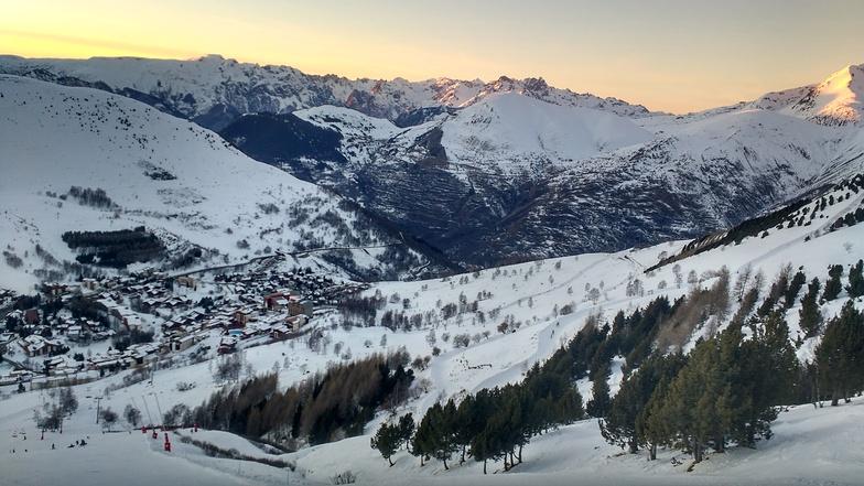 Sunset, Les Deux Alpes