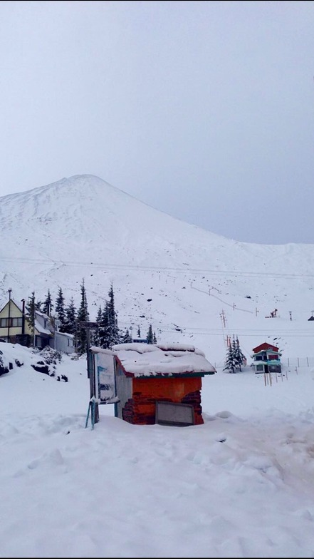 Volcán Antuco y centro de Ski 12/7/2016