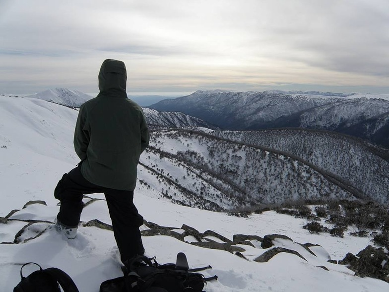 Selecting Lines on Machinery Spur, Mount Hotham