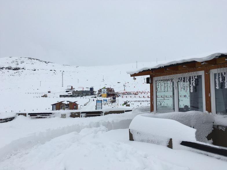 The morning after, Afriski Mountain Resort