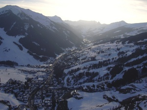 Sunset over Hinterglemm, Saalbach Hinterglemm photo