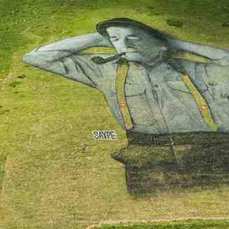 Painting on the mountain 2, Leysin