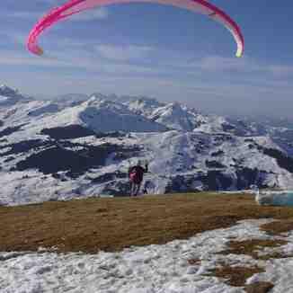 Paragliding in Hinterglemm, Saalbach Hinterglemm