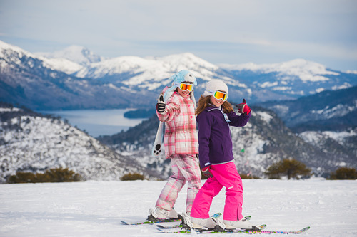 Batea Mahuida Ski Resort by: Javier Lescano