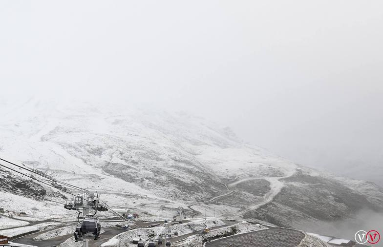 First snows of Winter 2016, Val Thorens