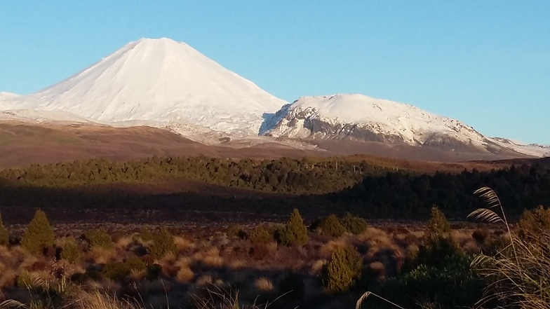 Mt Doom, New Zealand, Whakapapa