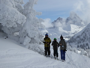 Kiwis flying high in Wyoming, Grand Targhee photo