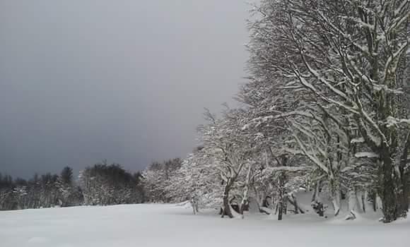 Invierno en Patagonia, Cerro Mirador