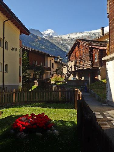 Saas Fee Ski Resort by: Anja Kalan
