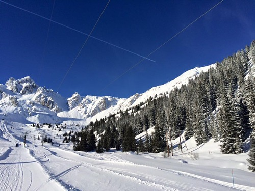 Courchevel Ski Resort by: Stuart Snell