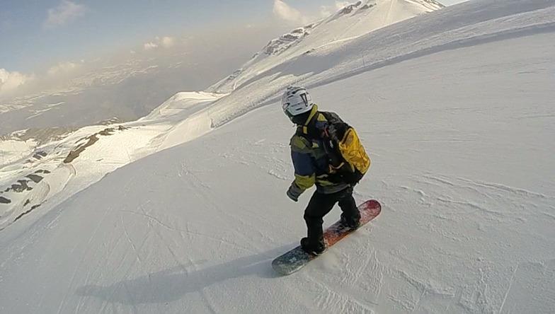 Fresh snow sol ll, Valle Nevado