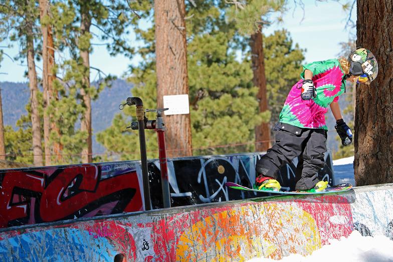 9 year old Rocco Jamieson @bigbear, Big Bear Mountain
