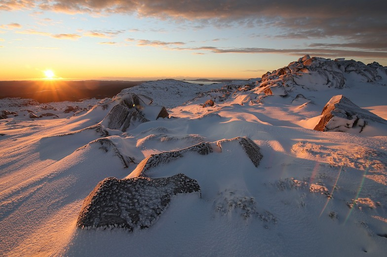 Tasmania Winter Sunrise, Ben Lomond