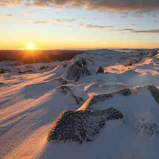 Tasmania Winter Sunrise, Ben Lomond