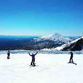 Thats what you call a BlueBird Day, Whakapapa